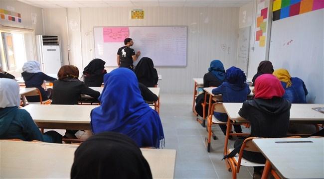 Çadır kentte 2017-2018 eğitim ve öğretim yılı başladı.