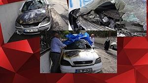 Urfa'da 4 aracı kundakladılar!