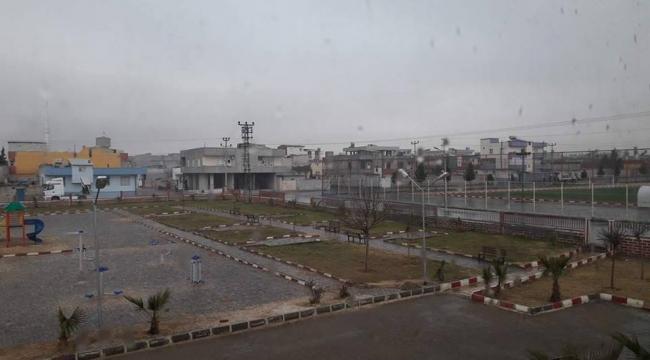 Akçakale'de toprak yağmurla buluştu!