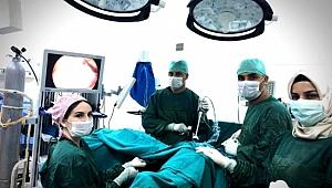 Akçakale'de başarılı ameliyat! Sağlığına kavuştu