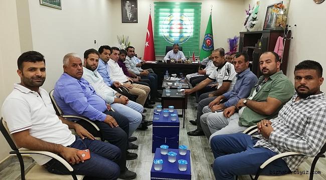 Başkan Ayhan, Çiftçilerin Sorunlarına Derman Arıyor