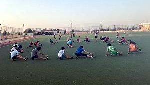 Akçakale Belediye Spor İdmanlara Başladı