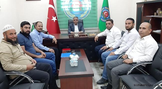 Semerkand'tan Başkan Ayhan'a çok özel ziyaret!