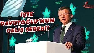 Ahmet Davutoğlu Urfa'ya geliyor