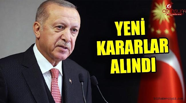 Erdoğan açıkladı! Kısmi kapanma geldi