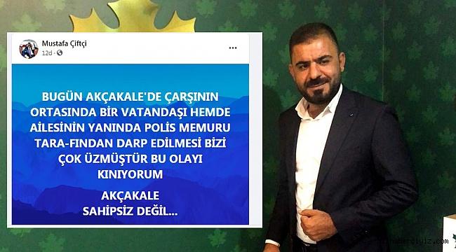 GELECEK PARTİSİ, VATANDAŞI DARP EDEN POLİSLERİ KINADI