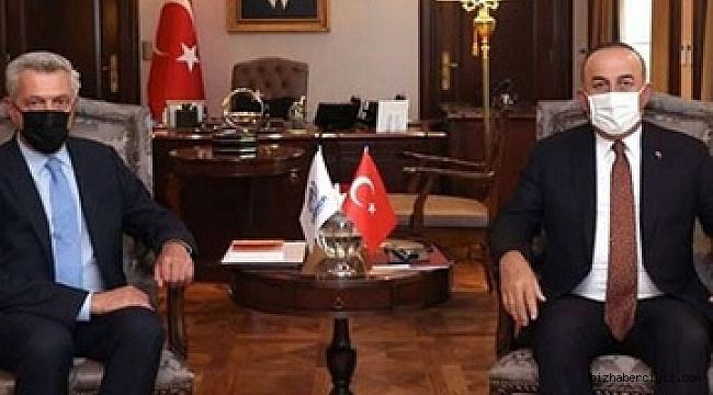 Grandi, Erdoğan'la görüşüp Urfa'ya geldi.