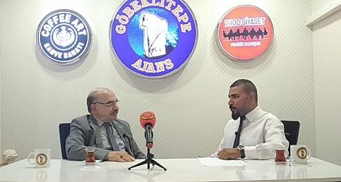 Göbeklitepe Ajansın Konuğu Demokrat Parti Şanlıurfa İl Başkanı Mustafa Polat